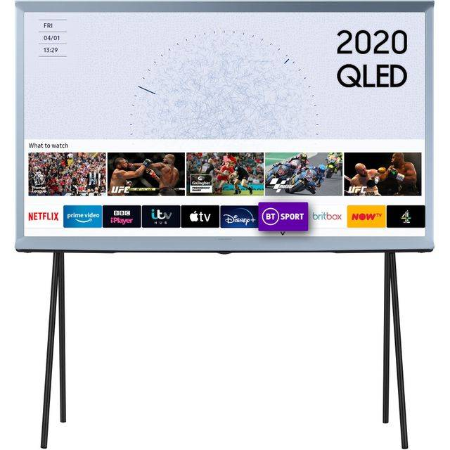 "Samsung Serif QE43LS01TB 43"" Smart HDR 4K Ultra HD QLED TV With 100% Colour Volume, Quantum Processor 4K"