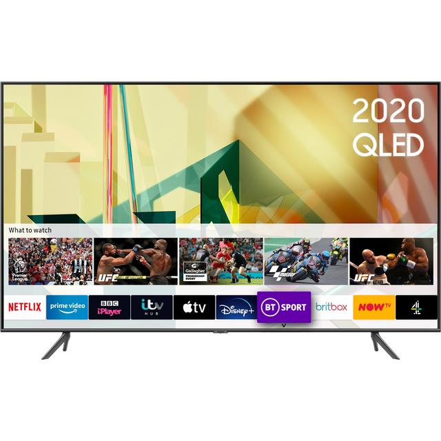 "Samsung QE85Q70TA 85"" Smart 4K Ultra HD QLED TV With 100% Colour Volume, Quantum Processor and Dual LED"