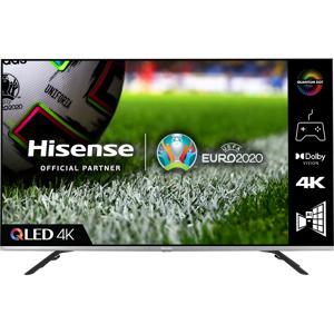 """Hisense QLED 55E76GQTUK 55"""" Smart 4K Ultra HD TV"""