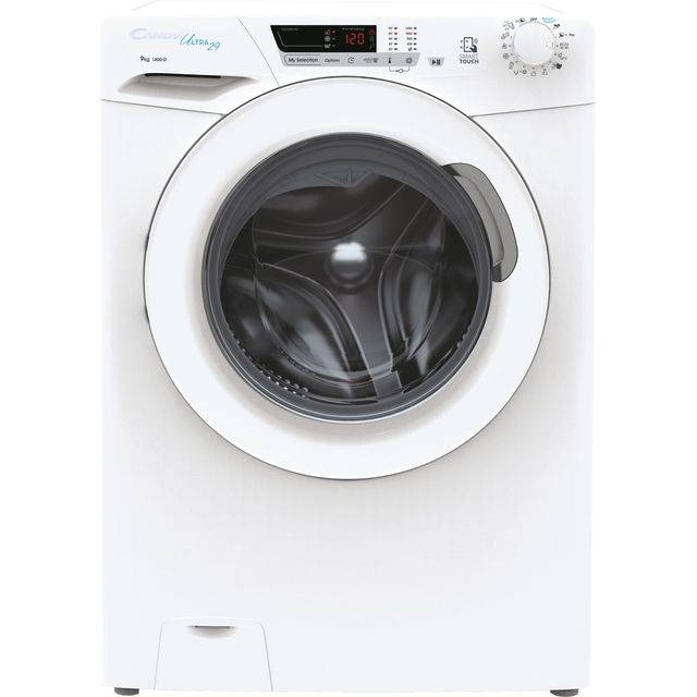Candy Ultra HCU1492DE/1 9Kg Washing Machine with 1400 rpm - White - D Rated