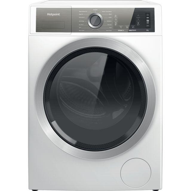 Hotpoint H6W845WBUK 8Kg Washing Machine with 1400 rpm - White - B Rated