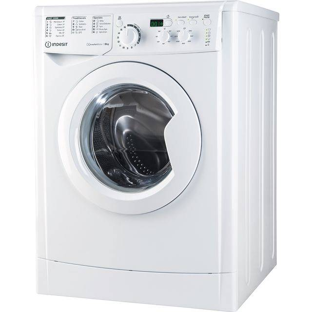 Indesit My Time EWD81483WUKN 8Kg Washing Machine with 1400 rpm - White - D Rated