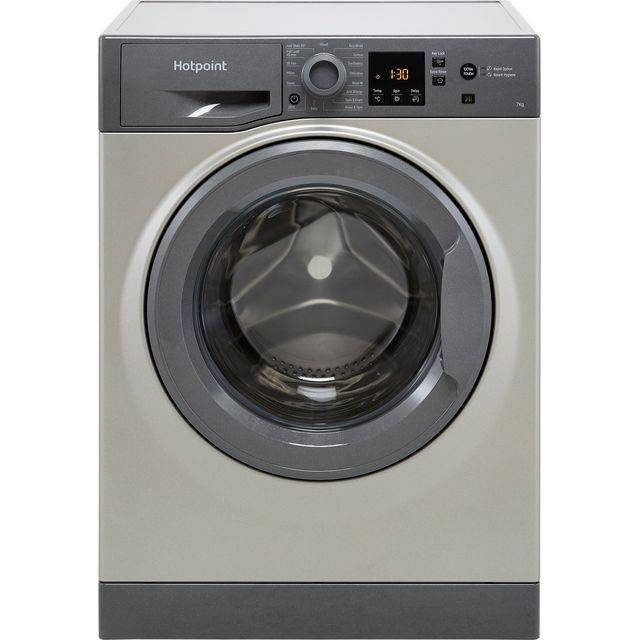 Hotpoint NSWM742UGGUKN 7Kg Washing Machine with 1400 rpm - Graphite - E Rated
