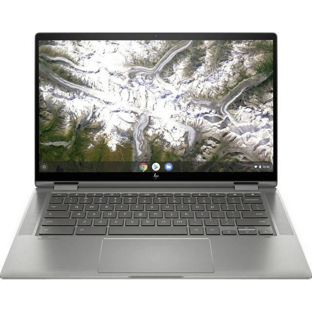 "HP 14"" Chromebook Laptop - Silver"