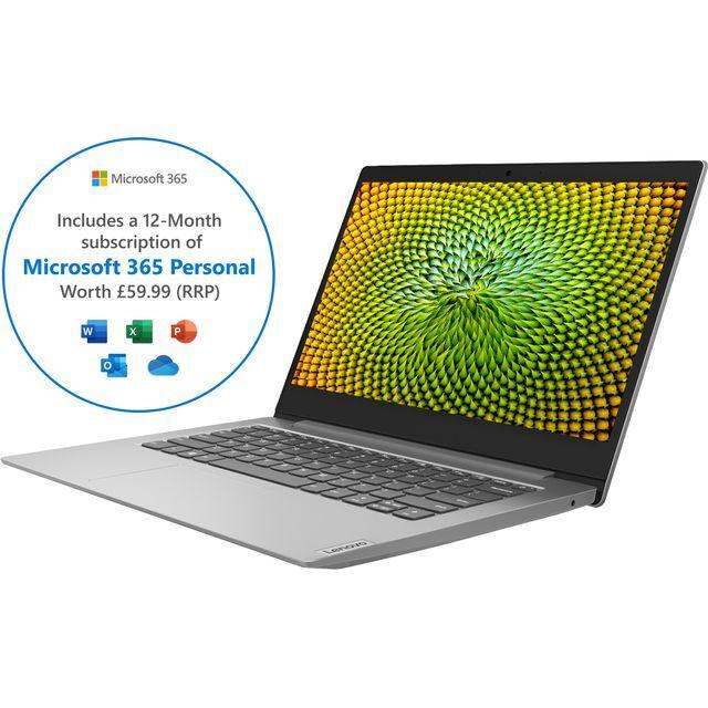 """Lenovo IdeaPad 1 14"""" Laptop - Grey"""