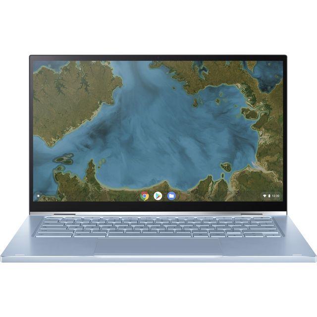 "Asus Flip 14"" Chromebook Laptop - Silver"