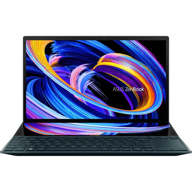 "Asus ZenBook Duo 14"" Laptop - Blue"