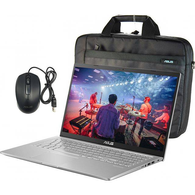 Asus X515 Includes Mouse and Laptop Bag Laptop - Silver