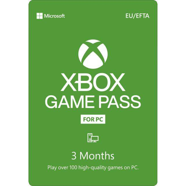Microsoft Xbox Game Pass for PC - 3 Months