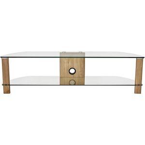 Alphason Century ADCE1500-LO 2 Shelf TV Stand - Light Oak