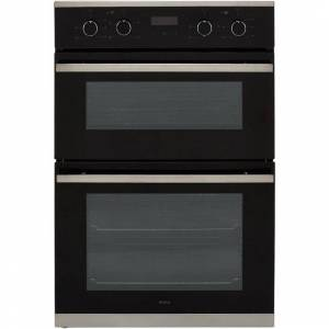 Amica ADC900SS Built In Double Oven - Stainless Steel - A/A Rated