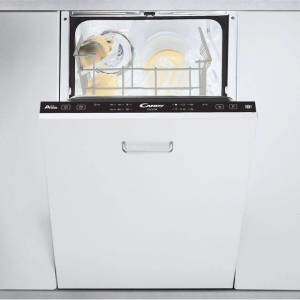 Candy CDI2L952/E Fully Integrated Slimline Dishwasher - Black Control Panel - A+++ Rated