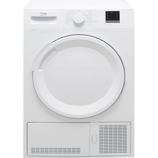 Beko DTLCE70051W 7Kg Condenser Tumble Dryer - White - B Rated