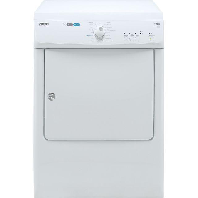 Zanussi ZTE7101PZ 7Kg Vented Tumble Dryer - White - C Rated