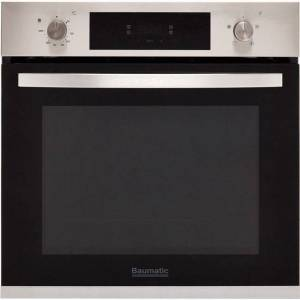 Baumatic BOFTU604X Built In Electric Single Oven - Stainless Steel - A Rated