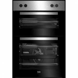 Beko BRDF21000X Built In Double Oven - Stainless Steel - A/A Rated