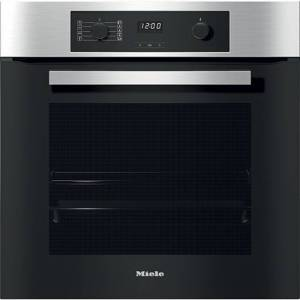 Miele H2265-1B Built In Electric Single Oven - Clean Steel - A+ Rated