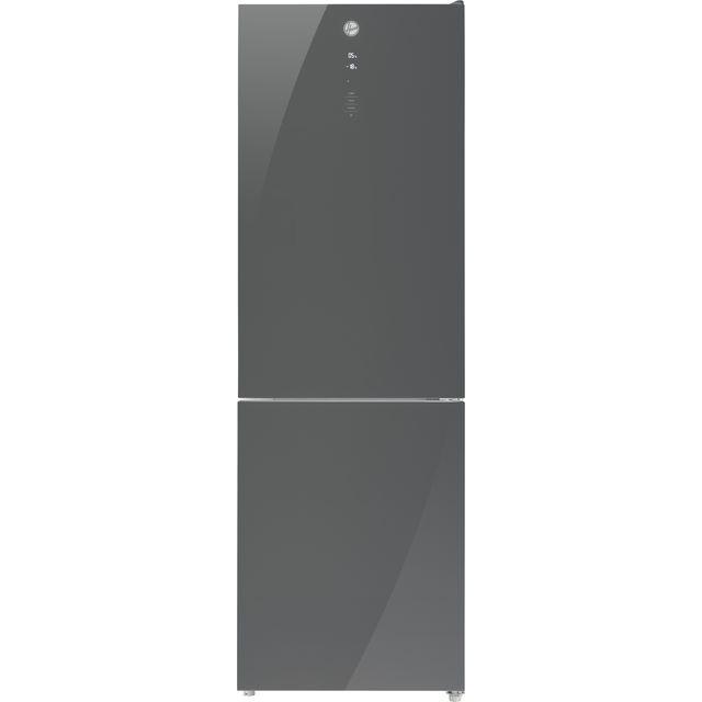 Hoover H-FRIDGE 500 HFDG6182MANN 70/30 Frost Free Fridge Freezer - Graphite Glass - F Rated