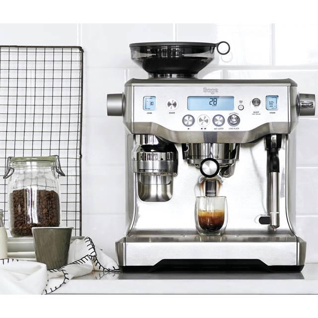 Sage The Oracle BES980UK Bean to Cup Coffee Machine - Stainless Steel