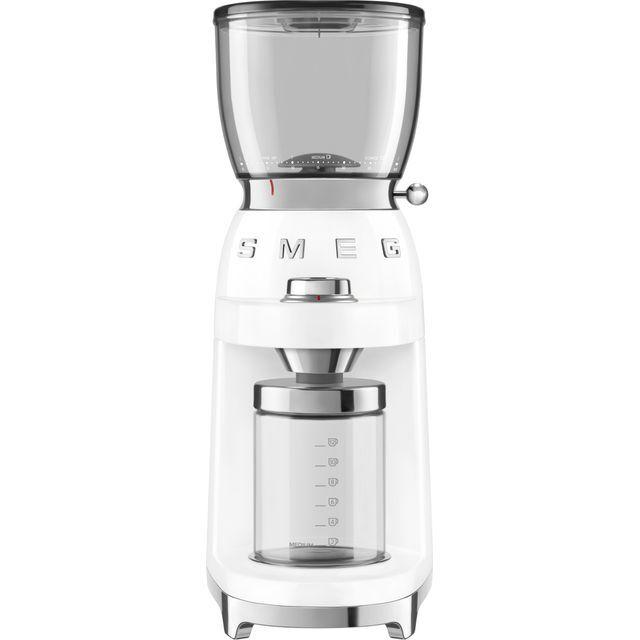 Smeg 50's Retro CGF01WHUK Coffee Grinder - White