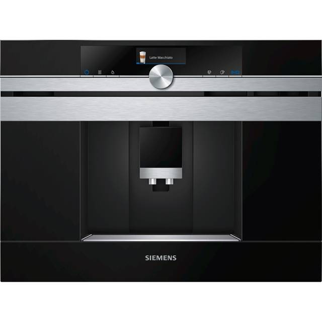Siemens IQ-700 CT636LES6 Wifi Connected Built In Bean to Cup Coffee Machine - Stainless Steel