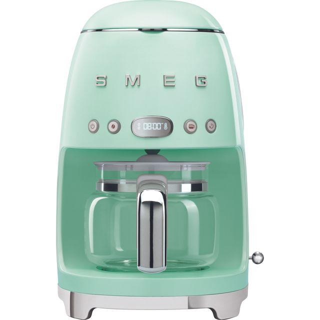Smeg 50's Retro DCF02PGUK Filter Coffee Machine - Pastel Green