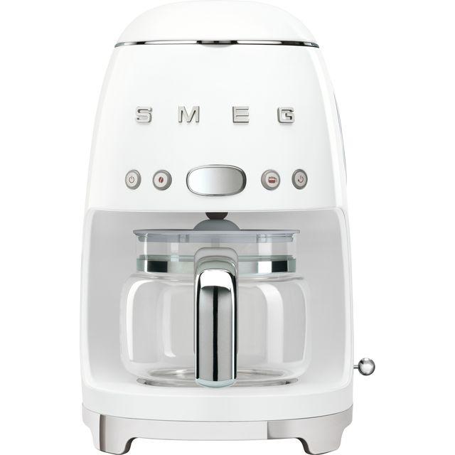 Smeg 50's Retro DCF02WHUK Filter Coffee Machine - White
