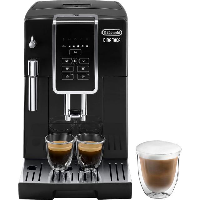 Delonghi De'Longhi Dinamica ECAM350.15.B Bean to Cup Coffee Machine - Black