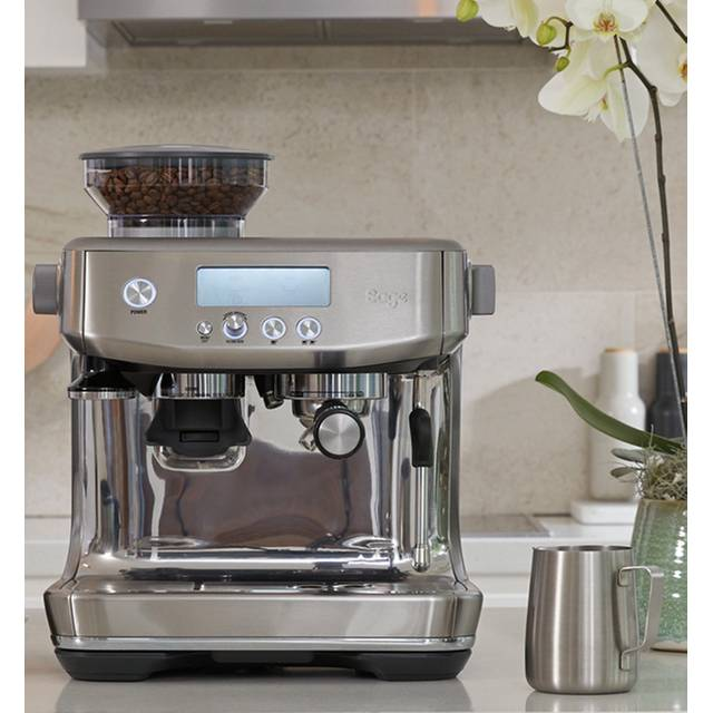 Sage The Barista Pro™ SES878BSS Espresso Coffee Machine with Integrated Burr Grinder - Brushed Stainless Steel