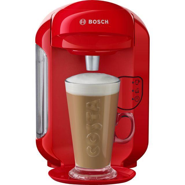 Tassimo by Bosch Vivy 2 TAS1403GB Pod Coffee Machine - Red