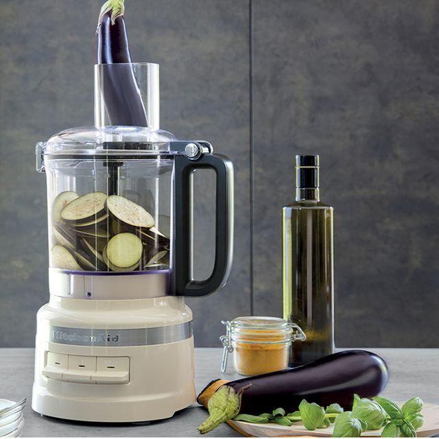 KitchenAid 5KFP0919BAC 2.1 Litre Food Processor With 4 Accessories - Almond Cream