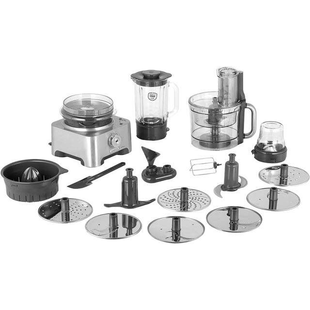 Kenwood MultiPro Excel FPM910 Food Processor With 12 Accessories - Silver