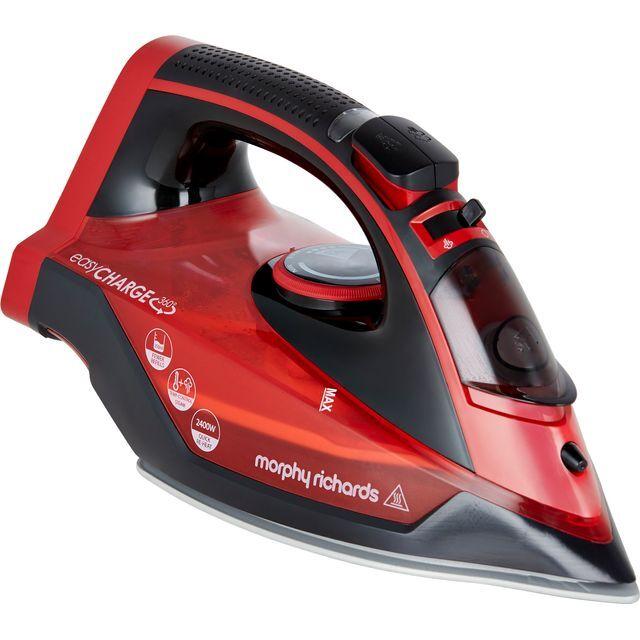 Morphy Richards Cordless 303250 2400 Watt Iron -Red