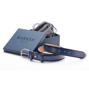 Barker Plain Belt - Navy Hand Painted