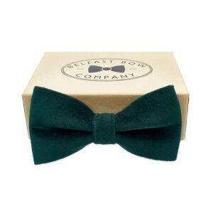 Belfast Bow Company Velvet Bow Tie - Green