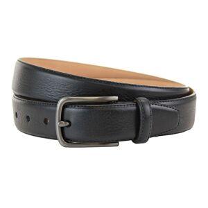 """Miller Black Leather Belt -34 Waist"""""""
