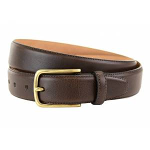 "Miller Brown Leather Belt -40 Waist"""