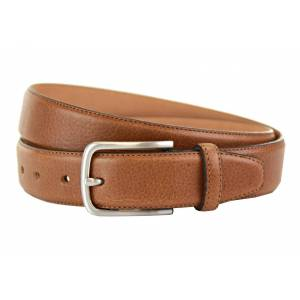 """Miller Tan Leather Belt -40 Waist"""""""