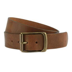 "Rollerston Tan Leather Belt -42 Waist"""