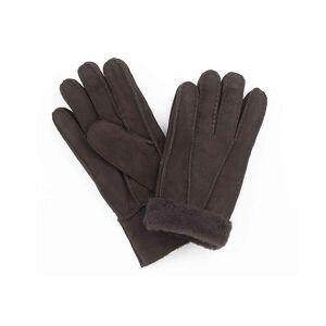 Draper Sheepskin Leather Gloves - Brown - Medium
