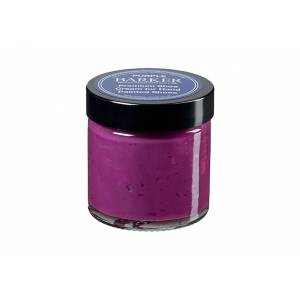 Barker Hand Painted Shoe Cream - Purple