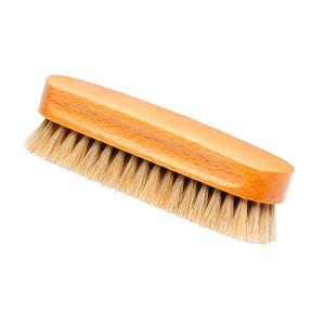 Barker Small Horsehair Brush-Natural