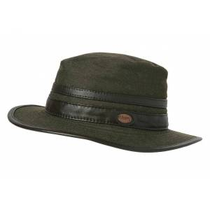 Dubarry Butler Cap - Dark Olive - Small