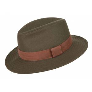 Dubarry Rathowen Hat - Olive - Small