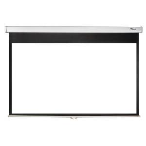 """Optoma 92"""" Pull Down Projector Screen DS-9092PWC"""