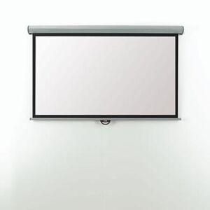 Metroplan Eyeline Electric Wall Screen - projection screen motorized
