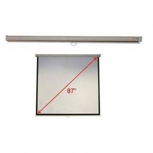 Acer 70 Inch Wall & Ceiling Matt White Manual Screen