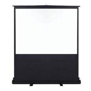 Metroplan Vertigo Portable Floor Screen - projection screen - 65 in