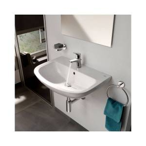 Grohe Bau Ceramic Wall Hung Wash Basin 550mm