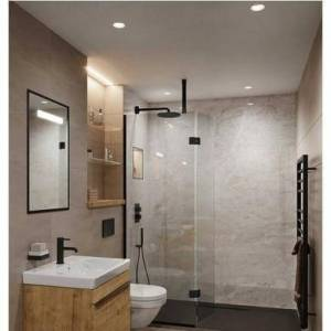 Abacus Pergamon Marble PVC Shower Wall Panel - 2400 x 1200mm